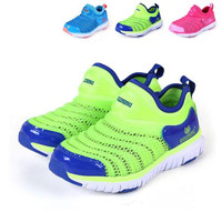 Kids Shoes Sport Shoes Kids Shoes Fashion Boys Summer Breathable and More Color Sport Shoes Hot Kids Net Cloth and Comfortable Causal Shoes