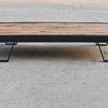 Vintage Industrial Moldmaker's Coffee Table by brandmojointeriors