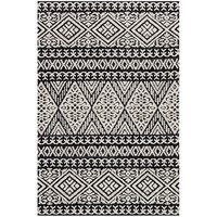 Magnolia Home Lotus Black & Silver Rug