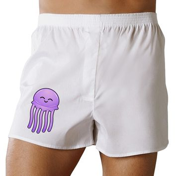 Cute Jellyfish Boxers Shorts by TooLoud