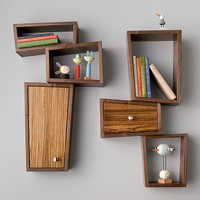 Twin Shelves by Kyle Dallman (Wood Shelf) | Artful Home