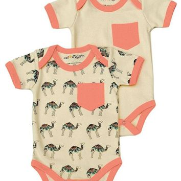 Camel Bodysuit 2 Pack