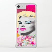 Goodbye Norma Jean Clear iPhone Case by Macsnapshot