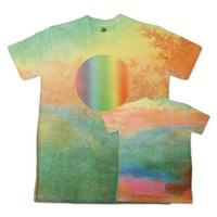 Official Edward Sharpe and the Magnetic Zeros Store   Watercolor Chakra Sublimation Tee (Unisex)