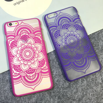 Hollow Out Sunflower Protect iPhone 5s 6 6s Plus Case Cover Gift 19