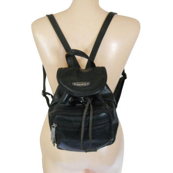 7544b358ba0 Small Backpack Purse Little Backpack 90s Backpack 90s Purse 90 Grunge Purse  Black Backpack Black Purse