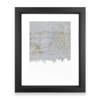 Society6 Painting On Raw Concr Framed Print