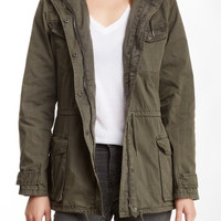 Garment Washed Field Jacket