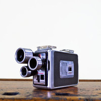 1950s Kodak Brownie Movie Camera, Vintage Kodak Brownie Camera, 3 Turret, 8mm Camera, Turret f/1.9