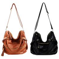 Unique Leather Handbag Cross Body Shoulder Bag = 1932583108