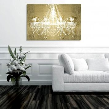Dramatic Entrance GOLD Canvas