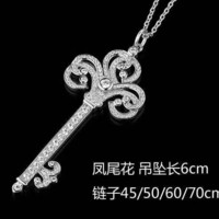 Tiffany fashion trend 925 sterling silver phoenix necklace high quality