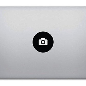 Camera Macbook Decal - Removable Vinyl Sticker Skin for Apple Macbook Pro Air Mac Laptop