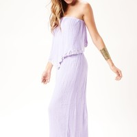 BRAZILIAN BACKLESS MAXI DRESS