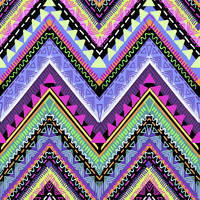 Psychedelic Chevron Removable Wallpaper Decal