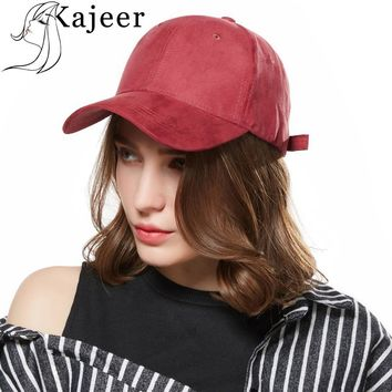 Trendy Winter Jacket kajeer Summer Baseball Cap Women Men's Fashion Brand Street Hip Hop Adjustable Cap Suede Hat for Men Snapback Caps Sun Visor Hat AT_92_12