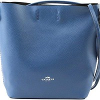 Coach Derby Leather Crossbody Bag Bright Mineral