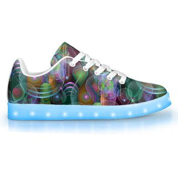 Bubble Drop by Sam and Cate Farrand - APP Controlled Low Top LED Shoe