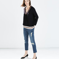 Relax fit medium-rise jeans
