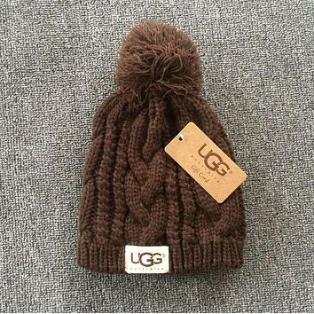 UGG Fashion Woman Men Knit Cap Lovers Cap Hat
