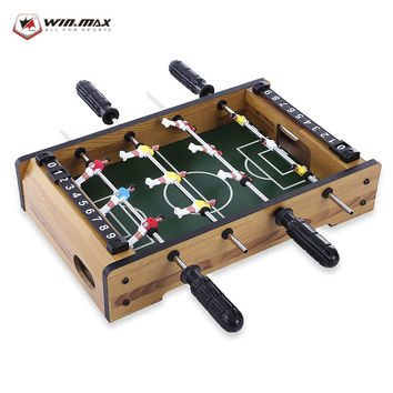 WIN MAX Funny Mini Table Soccer Hot Sale Foosball Board Game Home Table Soccer Set Football Toy Gift Game Accessories
