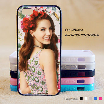 lana del rey Phone Case For iPhone 6 Plus For iPhone 6 For iPhone 5/5S For iPhone 4/4S For iPhone 5C iPhone X 8 8 Plus