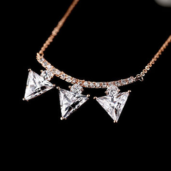 Luxury Bling Crystal Necklace Bubble Necklace Gold Choker Necklace Bridal Necklace Jewelry Wedding Necklace Jewelry Wholesale