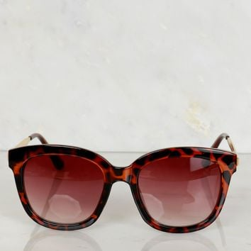 Tortoise Trim Sunglasses