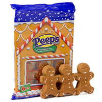 Peeps Marshmallow Gingerbread Men Candy 6-Packs: 24-Piece Case