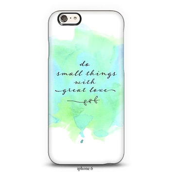 Typography phone case, S3,S4, S5, iphone4, 5, 6 case, ipad hard case, inspirational,love,aqua,green