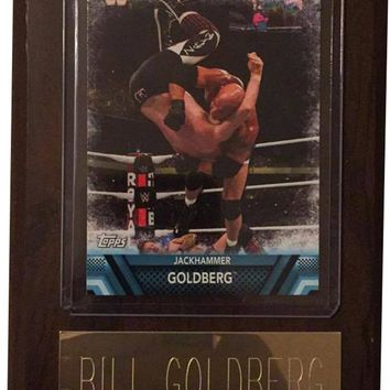 "Bill Goldberg 4"" x 6"" WWE Legend Wrestling Plaque"