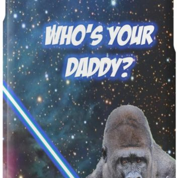 'gorilla is your father' iPhone Case/Skin by Rowant