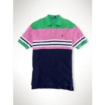 Beauty Ticks Ralph Lauren Careers Men Stripe Polo Mrlstp096
