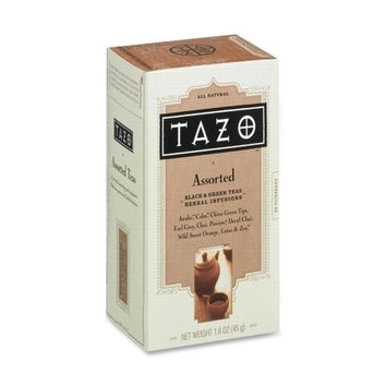 Starbucks Coffee Tazo Tea, Earl Gray Blend, Black