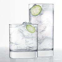 Food Network 16-pc. Slim Glassware Set (Clear)