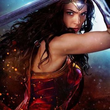 Wonder Woman Poster 16x24 Medium