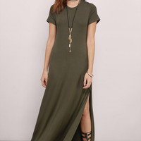 Shannara Cowl Back Maxi Dress