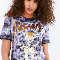 Death Row Records Gold Foil Tie-Dye Tee - Urban Outfitters