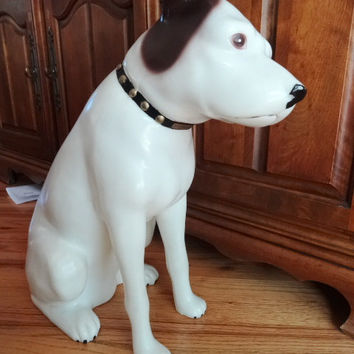 "Nipper RCA  Victor His Master's Voice 18"" Display Dog"