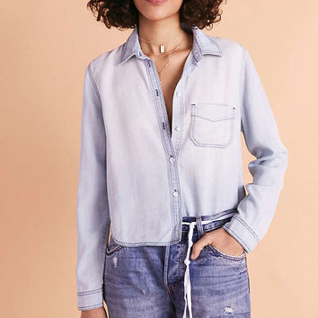 BDG Clara Denim Button-Down Shirt - Urban Outfitters