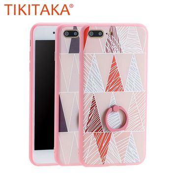 Geometry Pattern Phone Cases For Iphone 7 Plus 0905-74
