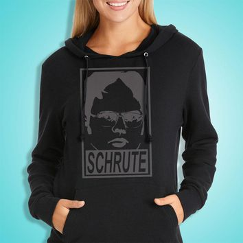 Dwight Schrute The Office Obey T Shirt Women'S Hoodie