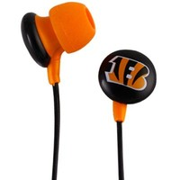 Cincinnati Bengals In-Ear Headphone Buds