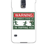 Warning Zombies - Samsung Galaxy S5 Case