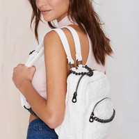 Nasty Gal x Nila Anthony Just in Lace Backpack