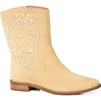 Jack Rogers Kaitlin Suede Boots 8 Brand New!