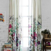Plum & Bow Forest Critter Curtain- Multi 52x84