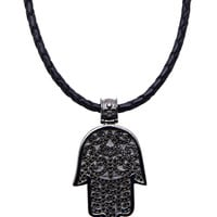 Necklace With Hamsa Pendant