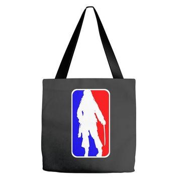 Jack Sparrow Pirate NBA Style Tote Bags