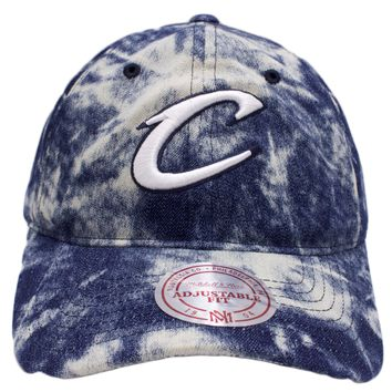 Cleveland Cavaliers Acid Wash Denim Dad Hat